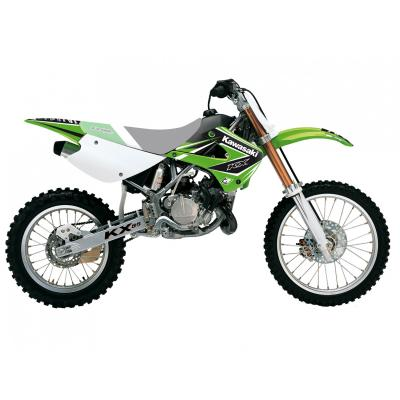 Kit déco Blackbird Racing Dream 4 Kawasaki 85 KX 01-13 vert/blanc/noir