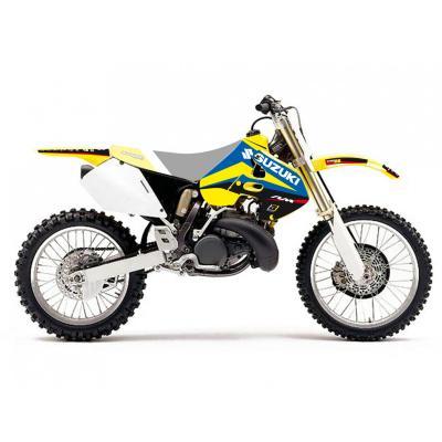 Kit déco Blackbird Racing Dream 4 Suzuki 125 RM 96-00 jaune/bleu/noir