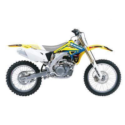 Kit déco Blackbird Racing Dream 4 Suzuki 450 RM-Z 05-07 jaune/bleu/noir