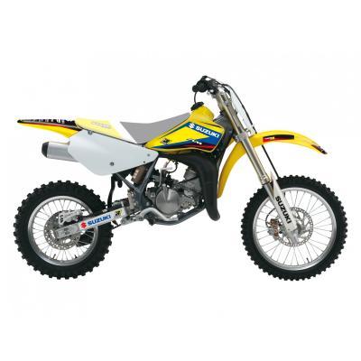 Kit déco Blackbird Racing Dream 4 Suzuki 85 RM 02-19 jaune/bleu/noir