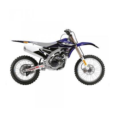 Kit déco Blackbird Racing Replica Yamaha Racing 2020 Yamaha 250 YZ-F 14-18 bleu/noir
