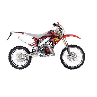 Kit déco Blackbird Rockstar Energy HM 50 CRE Derapage 07-12 rouge/blanc