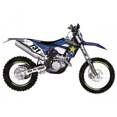 Kit déco Blackbird Rockstar Energy Sherco 50 SE-R 18-20 bleu