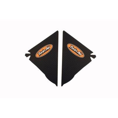 Kit déco boîte à air anti-dérapant Twin Air Noir pour Honda CRF 250 R 04-09