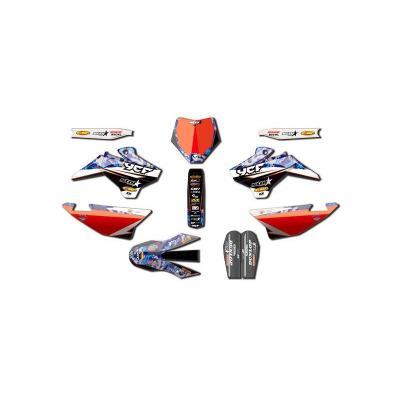 Kit déco D'COR Star Racing Camo YCF Pilot 16-17
