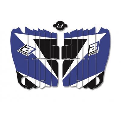 Kit déco de cache radiateur Blackbird Dream Graphic 3 Yamaha YZ 450F 18-20 bleu