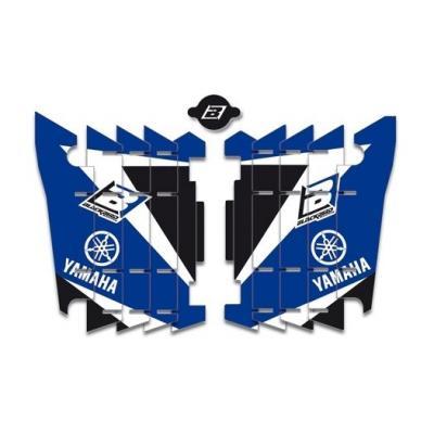 Kit déco de radiateur Blackbird Yamaha 450 YZ-F 14-17 bleu