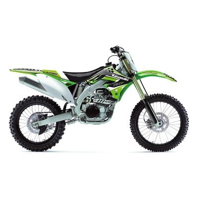 Kit déco + housse de selle Blackbird Dream 4 Kawasaki 450 KX-F 09-11 vert/noir