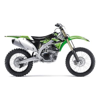 Kit déco + housse de selle Blackbird Dream 4 Kawasaki 450 KX-F 12-15 vert/noir