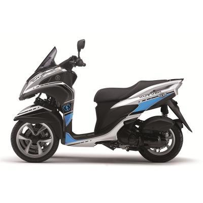 Kit déco Kutvek Cooper blanc/bleu Yamaha Tricity 125
