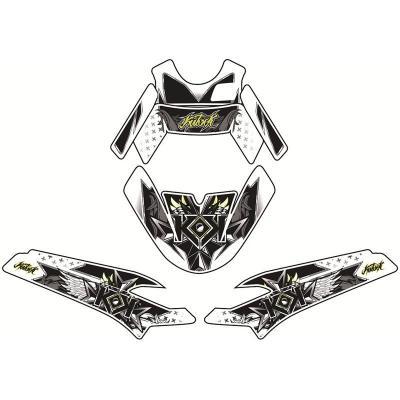 Kit déco Kutvek Demon vert Peugeot Speedfight III