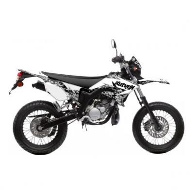 Kit déco Kutvek Predator MBK Xlimit / Yamaha DT 07-11 blanc