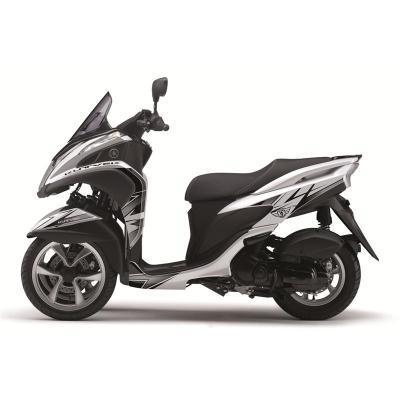 Kit déco Kutvek Velocity blanc/noir Yamaha Tricity 125