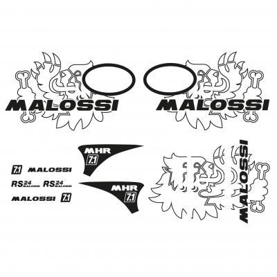 Kit déco Malossi trophée Vespa