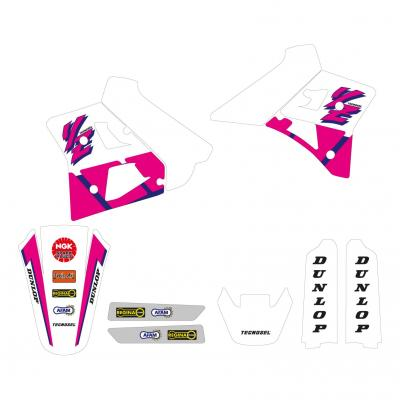 Kit déco Réplica OEM Yamaha 92 Tecnosel Yamaha 125 YZ 91-92