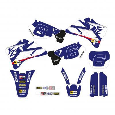 Kit déco Réplica Team Yamaha 98 Tecnosel Yamaha 125 YZ 96-99
