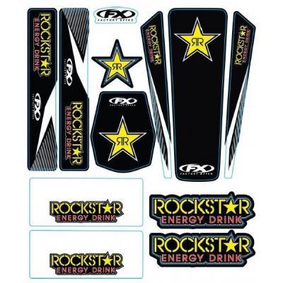 Kit déco Rockstar autocollant 12 pièces FX Factory Effect