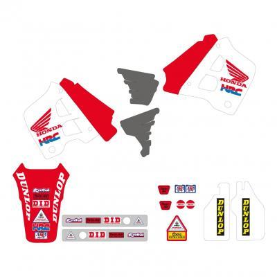 Kit déco Team Honda 91 USA Tecnosel Honda CR 250R 90-91
