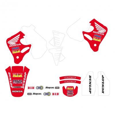Kit déco Team Honda 92 Tecnosel Honda CR 250R 92-94