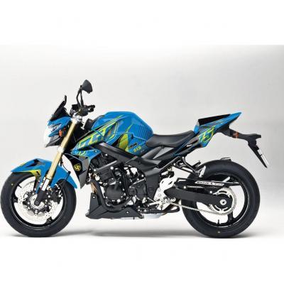Kit déco Up Maximize bleu / jaune Suzuki GSR 750 11-16