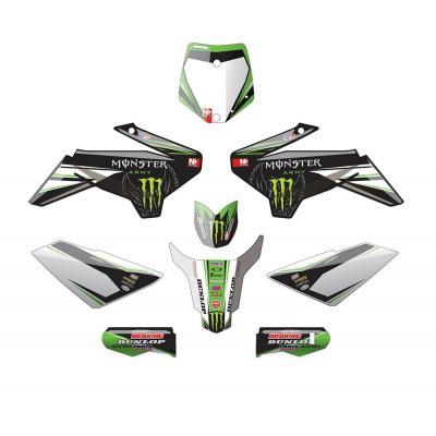 Kit déco YCF N-Style Team Green 50A vert