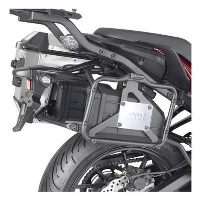 Kit fixation pour la Tool Box Givi sur support PL Yamaha 700 Tracer 2020
