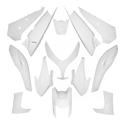 Kit habillage 1Tek Tuning blanc brillant T-Max 500 08-11