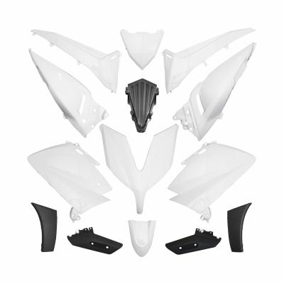 Kit habillage Blanc Yamaha T-Max 530 2015-16