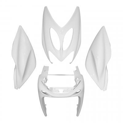 Kit habillage MBK Nitro / Yamaha Aerox 97-12 blanc brillant