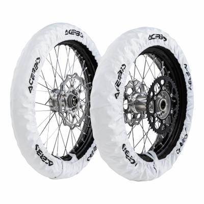 Kit housses de roue Acerbis X-Tire blanc