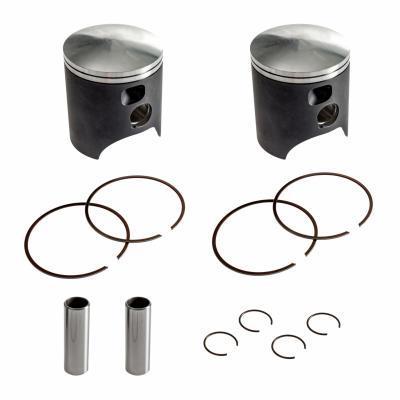 Kit pistons (x2) forgés Tecnium Ø 57,00 mm Yamaha TDR 240 88-90