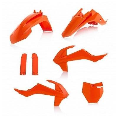 Kit plastique complet Acerbis KTM 65 SX 16-21 (orange 2)