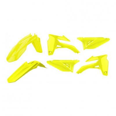 Kit plastique complet Polisport Sherco 250 SE-R Racing 14-15 jaune fluo
