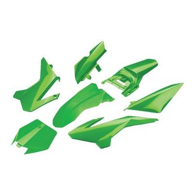 Kit plastique complet YCF 50cc à partir 2020 vert