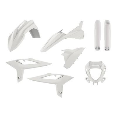 Kit plastique Polisport Beta RR 125 2T 20-21 blanc