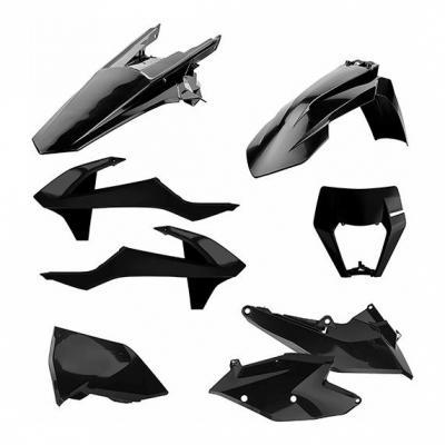 Kit plastique Polisport Enduro KTM 250 EXC TPI 18-19 noir