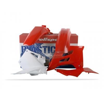 Kit plastique Polisport Gas Gas 125 EC 05-06 rouge/blanc