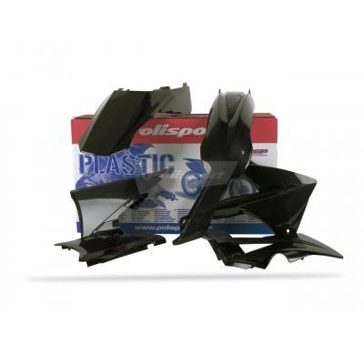 Kit plastique Polisport Gas Gas 125 EC 2010 (noir origine)