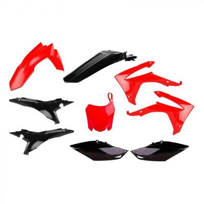 Kit plastique Polisport Honda CRF 250R 14-17 rouge/noir