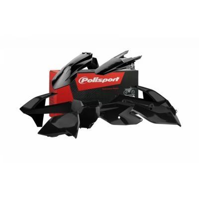 Kit plastique Polisport KTM 450 SX-F 16-18 noir