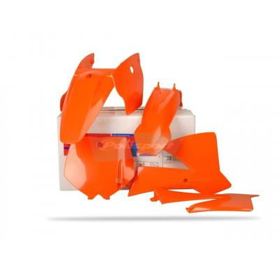 Kit plastique Polisport KTM 65 SX 02-08 (orange origine)