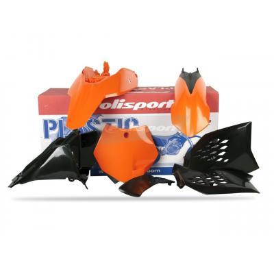 Kit plastique Polisport KTM 65 SX 09-11 (orange/noir origine)