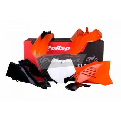 Kit plastique Polisport KTM 65 SX 12-15 (orange/noir origine 13-15)