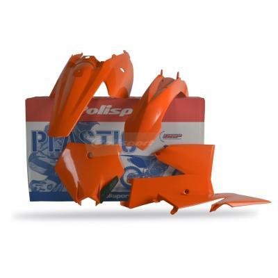Kit plastique Polisport KTM 85 SX 06-12 (orange origine06-10)