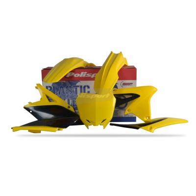 Kit plastique Polisport Suzuki 250 RM-Z 10-18 (jaune/noir origine 10-12)