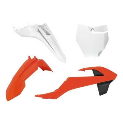 Kit plastique RTech KTM 65 SX 16-21 orange/blanc/noir