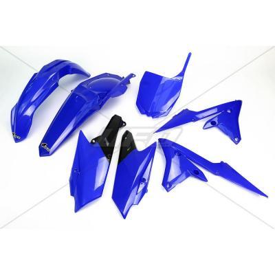 Kit plastique UFO Yamaha 250 YZ-F 14-18 bleu (bleu reflex)