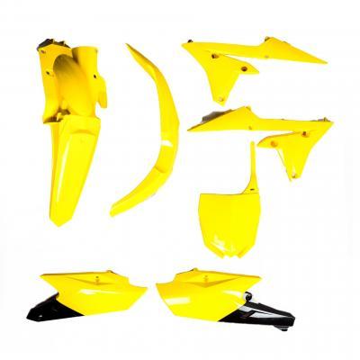 Kit plastique UFO Yamaha 250 YZ-F 14-18 jaune/noir (couleur 60e anniversaire)