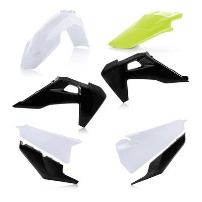 Kit plastiques Acerbis Husqvarna 250 FC 19-21 blanc/noir/jaune