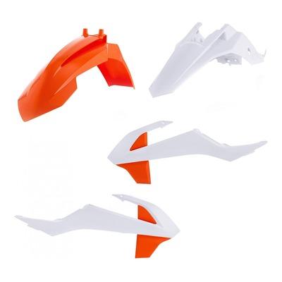 Kit plastiques Acerbis KTM 65 SX 16-21 orange/blanc/noir (couleur origine)